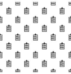 Summary in folder pattern simple style vector