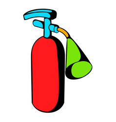 fire extinguisher icon icon cartoon vector image