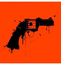 gunge gun vector image