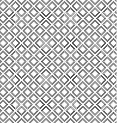 Abstract monochrome square pattern vector