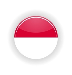 Indonesia icon circle vector