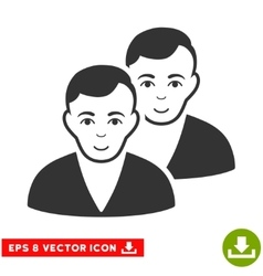 Users EPS Icon vector image
