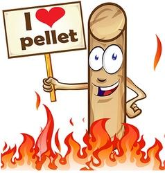 pellet cartoon vector image