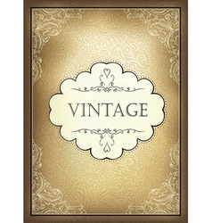 Vintage background a4 vector