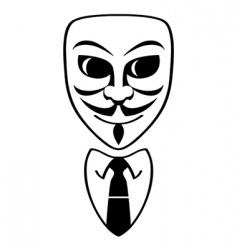 anonymous symbol vector image