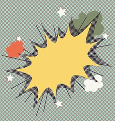 Comic Cartoon Effect vector image vector image