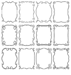 frames design elements Editable file vector image