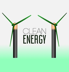 Clean energy vector