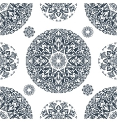 Elegant lace vintage seamless pattern vector