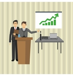 Businesspeople graphic design vector