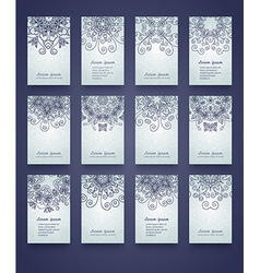 Mandala invitation vector