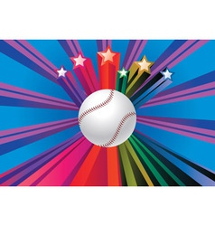 Baseball Ball Background2 vector image vector image