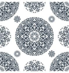 Elegant lace vintage seamless pattern vector