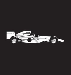 Formula car vector