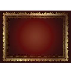 Luxury frame vector