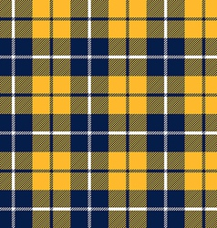 orange and blue tartan fabric texture in a square vector image
