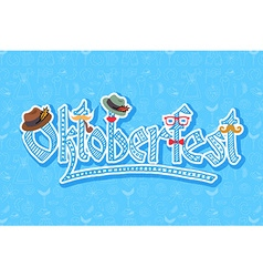 Hipster oktoberfest elements set vector
