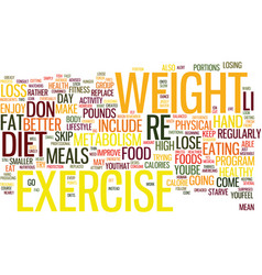 The combined benefits of diet and exercise text vector