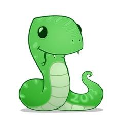 Cartoon snake vector