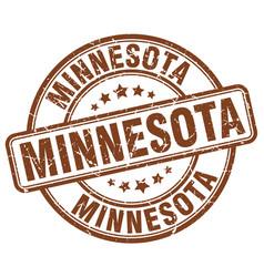 Minnesota stamp vector