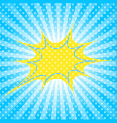 pop art template vector image