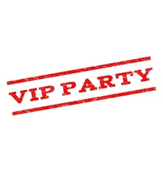 Vip party watermark stamp vector