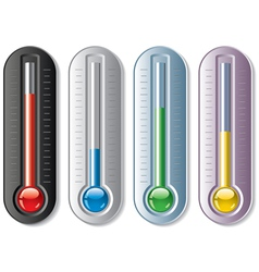 Thermometers vector