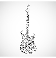 Abstract musical instrument background vector