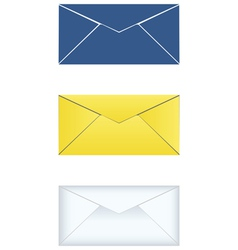 Mail icons set vector