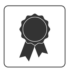 Award medal icon gray 1 vector image vector image