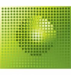 sphere digital background disco ball vector image