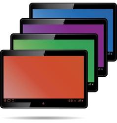 digital tablets vector image