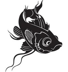 koi fish vector image vector image