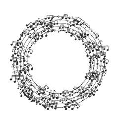 modern black music background design vector image vector image