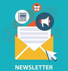 News letter vector
