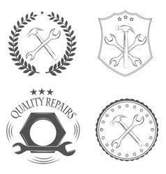 repairs vector image vector image
