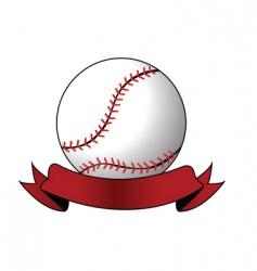 Softball image vector