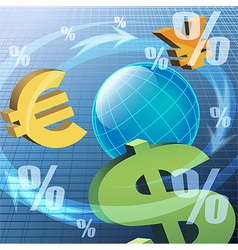The currency vector image