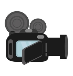 Video camera digital recorder wedding vector