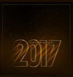 2017 new year background with diagonal lights vector