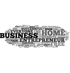 Free home business entrepreneur tools and vector