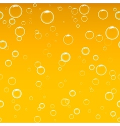 Beer foam background horizontal seamless beer vector