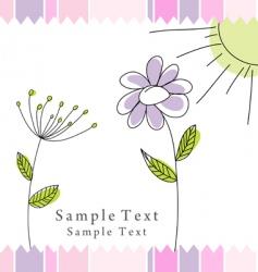 festive card vector image vector image