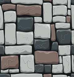 Seamless pattern with decorative stones vector