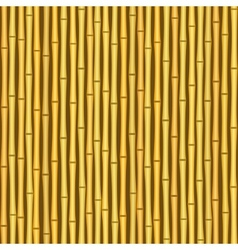 vintage bamboo wall seamless texture background vector image
