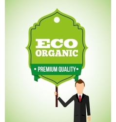 Eco friendly vector