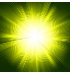 Yellow burst color design vector