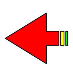 Arrows navigation vector