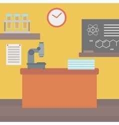 Background of chemistry class vector