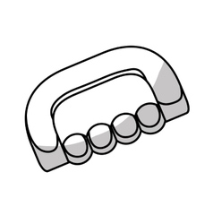 Massager tool icon vector